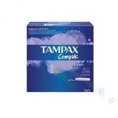 TAMPON TAMPAX COMPACK LITES 20