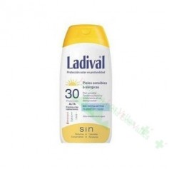 LADIVAL PIEL SENSIBLE/ALERGICA FP30 GEL-CR 200 ML
