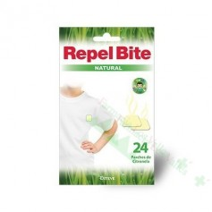 REPEL BITE NATURAL REPELENTE INSECTOS 24 PARCHES