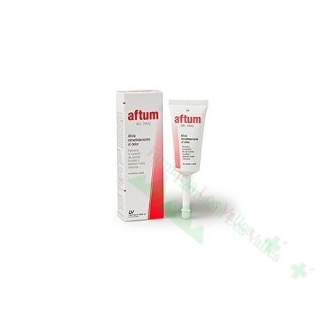 AFTUM GEL ORAL PEDIATRICS 15 ML