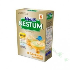 NESTUM EXPERT PAPILLA 8 CER/MIEL 600 G (NESTLE)