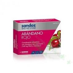 SANDOZ BIENESTAR ARANDANO ROJO CRANBERRY (CISTITIS) 30 CAPS
