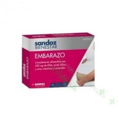SANDOZ BIENESTAR EMBARAZO 30 CAPS
