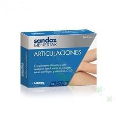 SANDOZ BIENESTAR ARTICULACIONES (DEPORTISTAS/REUMA/ARTRITIS) 30 CAPS