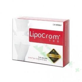 LIPOCROM 100 20 CAPS (QUEMAGRASAS PREMIUM)
