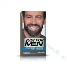 JUST FOR MEN BIGOTE/BARBA NEGRO GEL COLORANTE 30