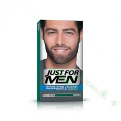 JUST FOR MEN BIGOTE/BARBA MORENO GEL COLORANTE 3