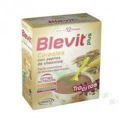 BLEVIT PLUS TROCITOS PEPITAS CHOCOLATE/CEREALES 600G