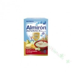 ALMIRON ADVANCE PAP MULTICEREALES CON FRUTA 500 G