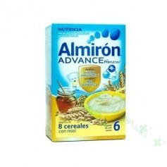 ALMIRON ADVANCE PAP 8 CEREALES MIEL 500 G