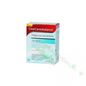 GINECANESBALANCE GEL VAGINAL (VAGINOSIS) 7 TUBOS 5 ML