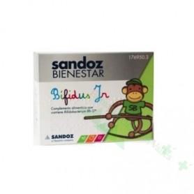 SANDOZ BIENESTAR BIFIDUS JR MONODOSIS (DIARREA/ANTIBIOTICOS) 10 SOBRES