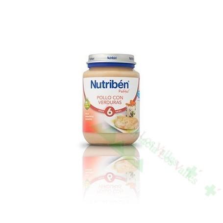 NUTRIBEN 250G POLLO VERDURAS