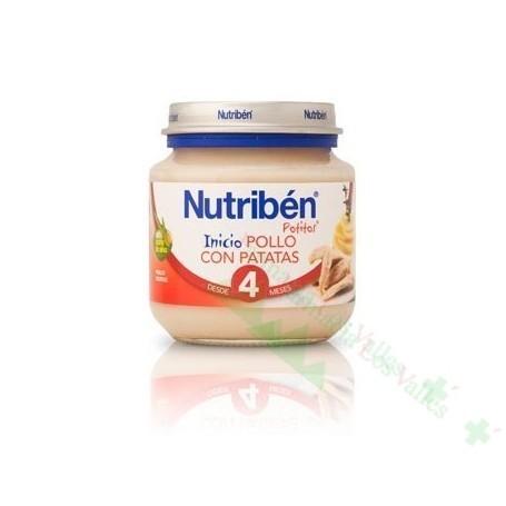 NUTRIBEN INICIO POLLO PATATAS 130 G(BAJA)