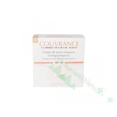 AVENE COUVRANCE Nº 1.0 PORCELANA OIL FREE CR COMPACTA 10G SPF30 MAQUILLAJE