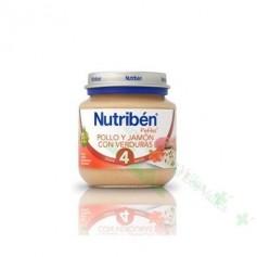 NUTRIBEN INICIO POLLO JAMON VERD 130G(BAJA)