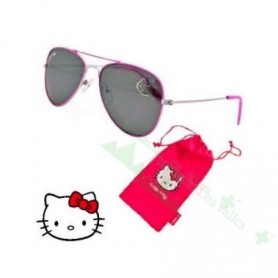 GAFAS HELLO KITTY JUNIOR AVIADOR TODOFAR