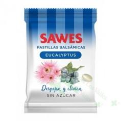 SAWES EUCALIPTUS S/AZUCAR BOLSA 50G PASTILLAS BALSAMICAS