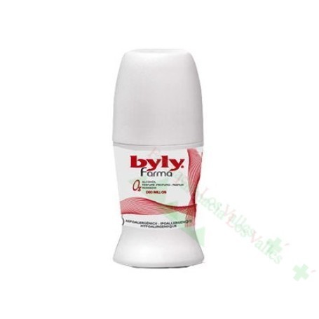 BYLY FARMA DEO SIN PERFUME 24 HORAS ROLL-ON 50 M