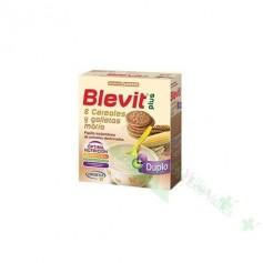 BLEVIT PLUS DUPLO GALLETAS/8 CEREALES 700G