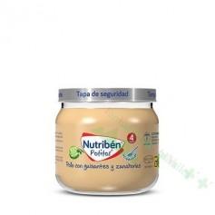 NUTRIBEN POT 120G POLLO GUISANTES ZANAHORIA