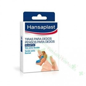 HANSAPLAST TIRAS ADHESIVAS LARGAS PARA DEDOS 19X120MM 16U