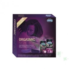 DUREX PACK ORGASMIC NIGHT BOX 12 U + 10 ML