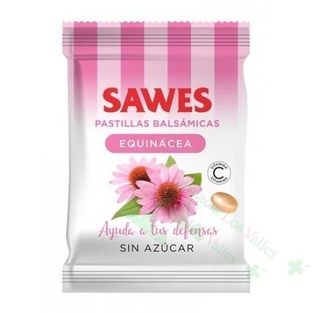 SAWES EQUINACEA S/AZUCAR BOLSA 50 G PASTILLAS BALSAMICAS