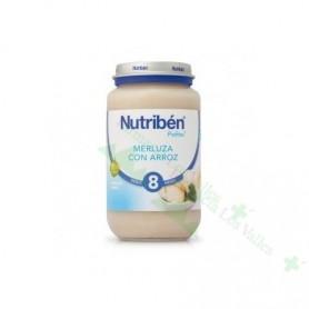 NUTRIBEN 235G SUPREMA DE MERLUZA CON ARROZ