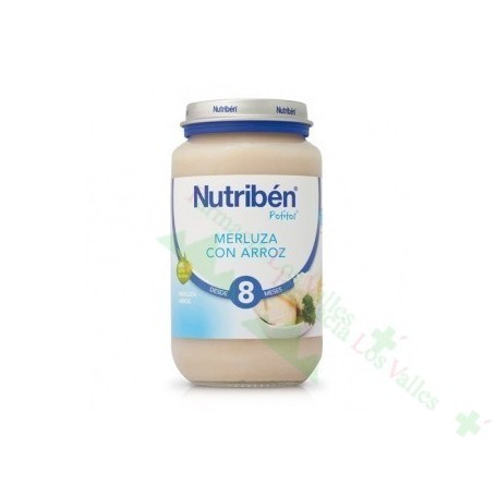 NUTRIBEN POT 235G SUPREMA DE MERLUZA CON ARROZ