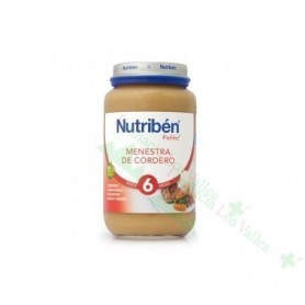 NUTRIBEN POT 235G MENESTRA DE CORDERO