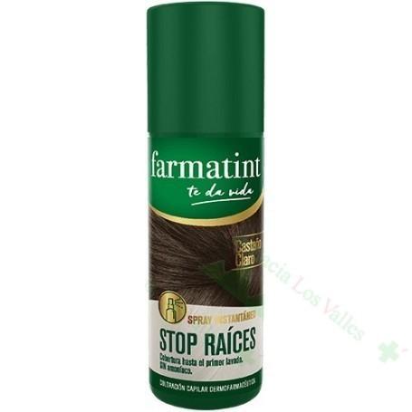 FARMATINT STOP RAICES CASTAÑO CLARO 75ML