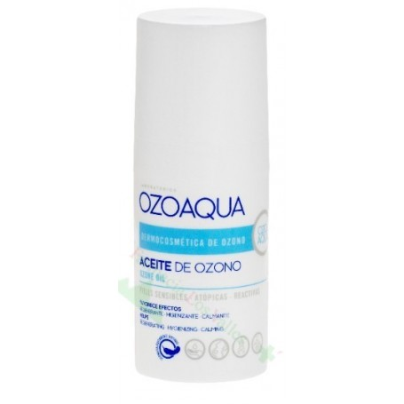 OZOAQUA ACEITE DE OZONO 15 ML (ANTISEPTICO/ANTIINFLAMATORIO/CICATRIZANTE)