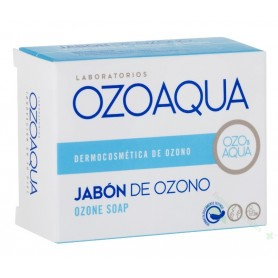 OZOAQUA JABON DE OZONO 100 G (ACNE/FISURAS ANALES/HONGOS/HEMORROIDES/OLOR CORPORAL)