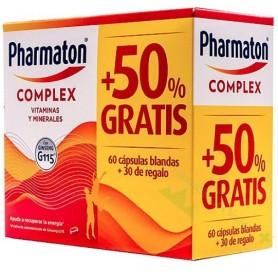 PHARMATON COMPLEX 100 COMPRIMIDOS-PROMOCION (25% DTO75+25 UDS DE REGALO)