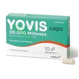 YOVIS CAPS 10 CAPSULAS