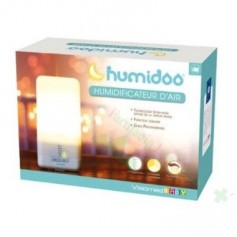 HUMIDIFICADOR ULTRASONIDOS C/LUZ HUMIDOO 200 ML