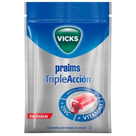 CARAMELOS PRAIMS TRIPLE ACCION VICKS 72 G