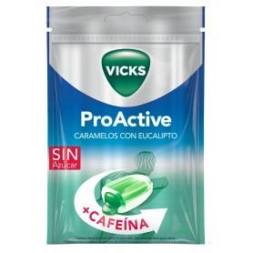 CARAMELOS PRAIMS PROACTIVE VICKS CON EUCALIPTO 72 G