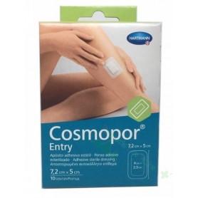 COSMOPOR ENTRY APOSITO ESTERIL 7,2 X 5 CM 10 U