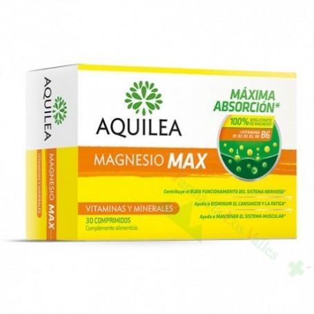 MAGNESIO AQUILEA MAX 30 COMPRIMIDOS