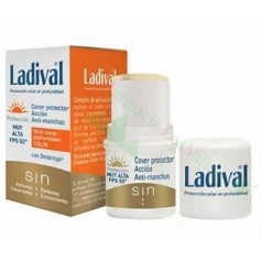 LADIVAL COVER ANTIMANCHAS FP50+ DORADO