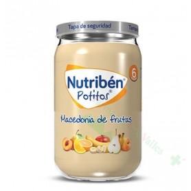 NUTRIBEN MACEDONIA DE FRUTAS POTITO 235 G