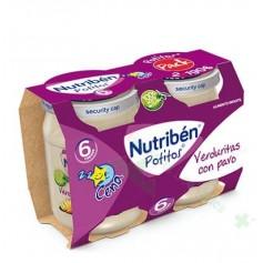 NUTRIBEN 190G X 2 CENA VERDURITAS/PAVO