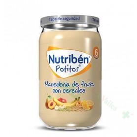 NUTRIBEN POT 235G MACEDONIA FRUTAS CEREALES
