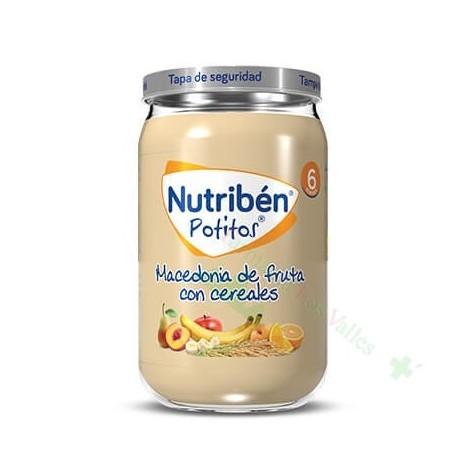 NUTRIBEN 235G MACEDONIA FRUTAS CEREALES