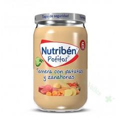 NUTRIBEN 235G TERNERA CON PATATAS ZANAHORIAS
