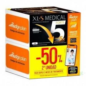 XLS MEDICAL FORTE 5 NUDGE PACK AHORRO 2X180 CAPS (50% DTO EN 2ª UNIDAD)
