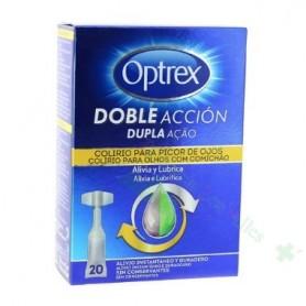 OPTREX CALMANTE DOBLE ACCION MONODOSIS PICOR OJOS/ALERGIA 20UD