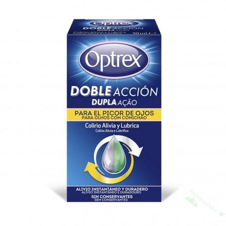 OPTREX CALMANTE DOBLE ACCION COLIRIO PICOR OJOS/ALERGIA 10 ML